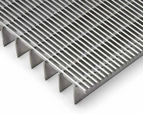 What is welding steel grating