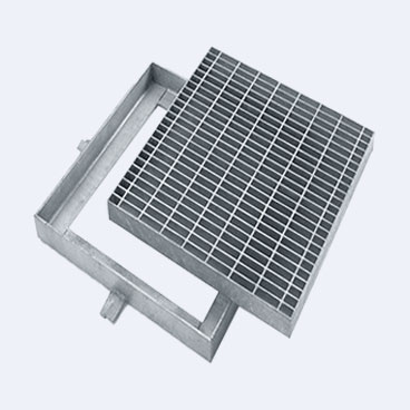 Steel Grating Trench Drain Covers are firm and longlasting against rust and corrption, providing a good choice for street drain use