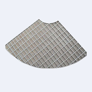 Special-shaped steel grating