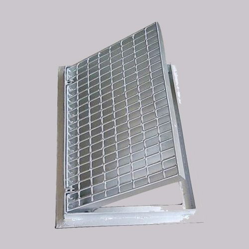 China Supplier Steel Garage Driveway Floor Trench Drain Grating Cover For Sale