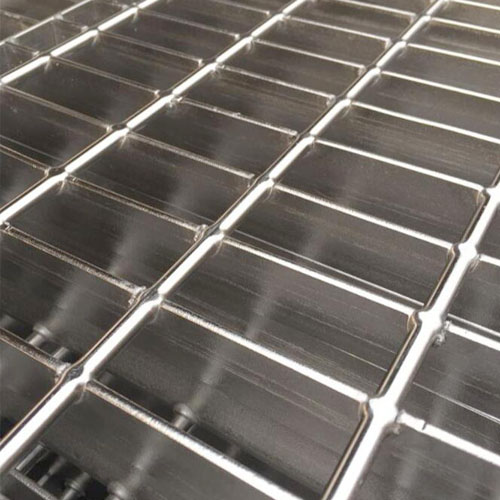 Hot galvanized platform twisted pavement structure steel bar grating