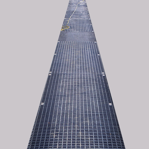 Supplier Galvanised Serrated Steel Grating for Platform Steel Floor From Factory In China