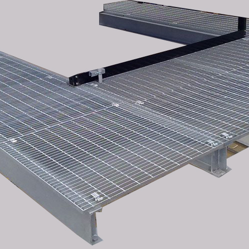 Galvanized Catwalk Metal Grid Steel Walk Grating Steel Walking Grating Platform
