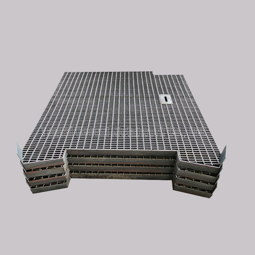 Cheap And Safe Hot Dipped Galvanized Platform Serrated Steel Grating From China Supplier