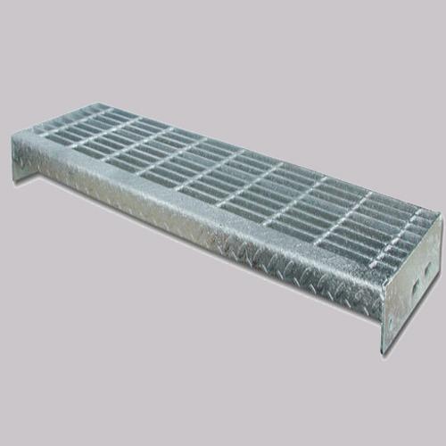 Good Price Plain Stainless Steel Nosing Gratings Steel Stair Tread Supplier