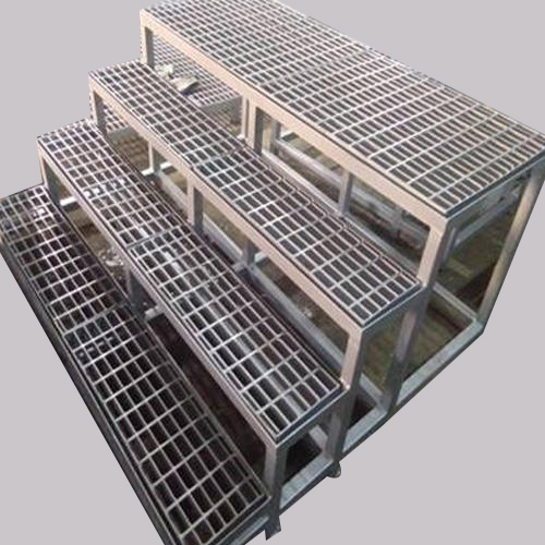 High Quality galvanized stair treads-stair tread steel grating price for wholesale