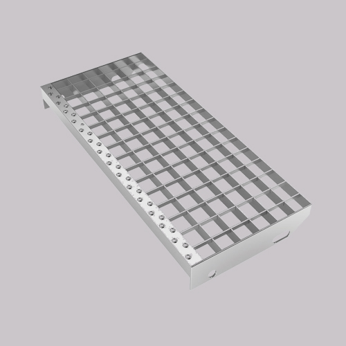 High quality 30x3 hot dipped galvanized steel bar grating stair treads from China supplier