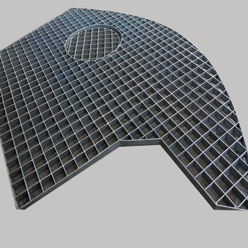 Buy various good price special-shaped steel grating from China manufacturer