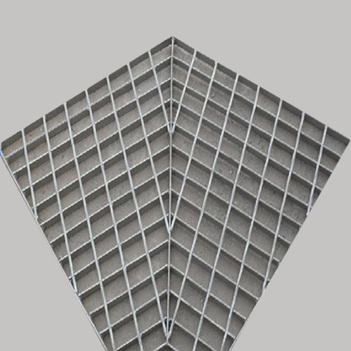 Safe Stainless Galvanized Special Shaped Steel Grating With Cheap Price