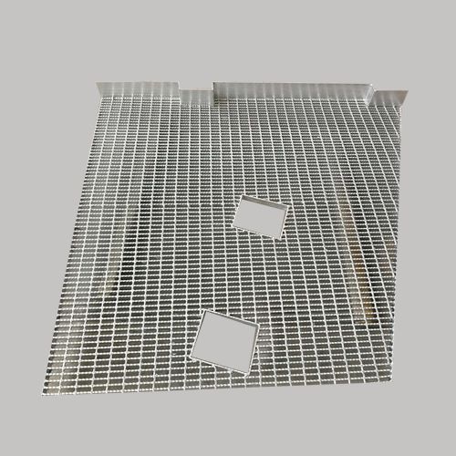 High quality safe stainless special-shaped steel floor grating exporting